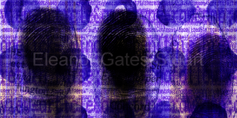 FingerCodes Artwork, 'FC03' by Eleanor Gates-Stuart
