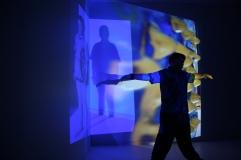 'Virus Series', Projection Installation By Eleanor Gates-Stuart