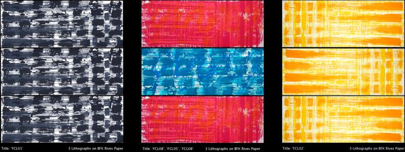 FongerCodes Lithographs by Eleanor Gates-Stuart