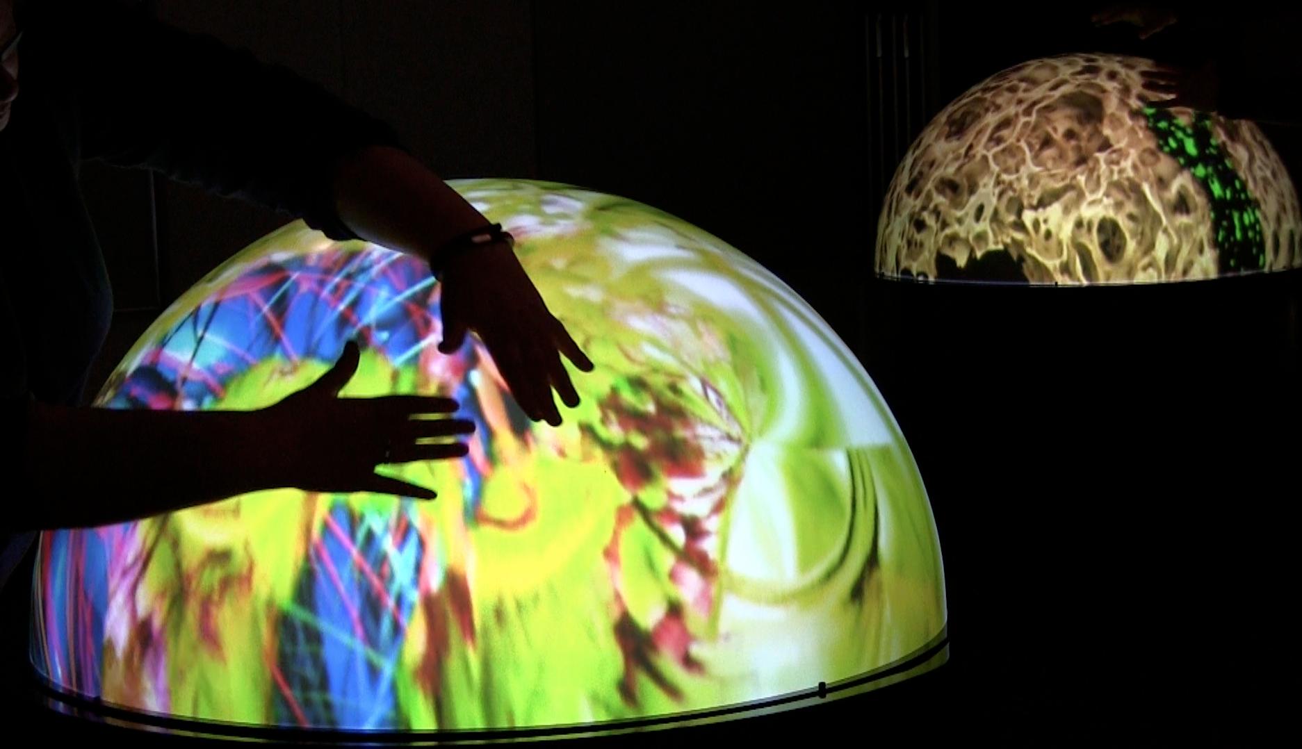 StellrLume Domes (StellrScope Project) by Eleanor Gates-Stuart