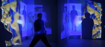 'Virus Series'. Installation by Eleanor Gates-Stuart