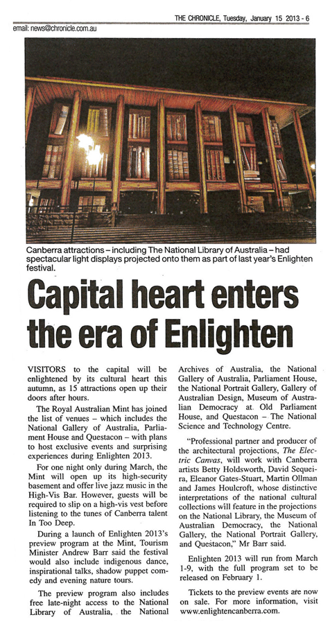 Capital heart enters the era of Enlighten - The Chronicle Newspaper