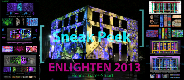 Eleanor Gates-Stuart's Architectural Projections, ENLIGHTEN 2013