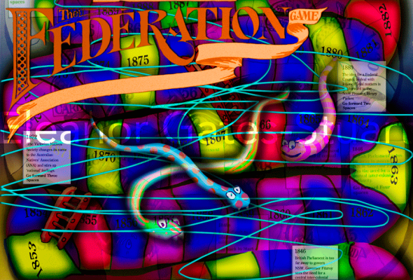 Artwork, 'The Federation Game' by Eleanor Gates-Stuart