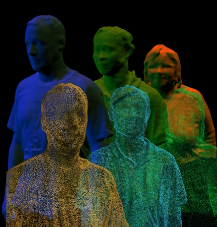 3D Kinect Body Scanning