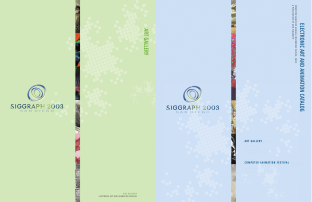 SIGGRAPH 2003: TASCSA, gatescherrywolmark, Eleanor Gates-Stuart, Jean Cherry Jenny Wolmark