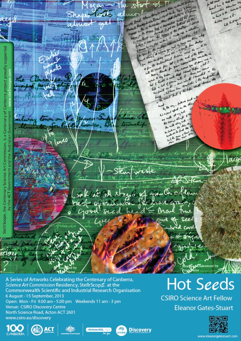 Hot Seeds @ CSIRO Discover Centre