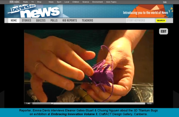 3D Creepy Crawley Bugs by ABC Behind the News
