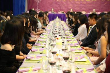 Guest Speaker, Professor Eleanor Gates-Stuart at the High Table Dinner, Division of Culture and Creativity(DCC) BNU-HKBU United International College