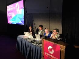Artist, Dr Eleanor Gates-Stuart - Panel Speaker, SIGGRAPH 2016, Anaheim USA