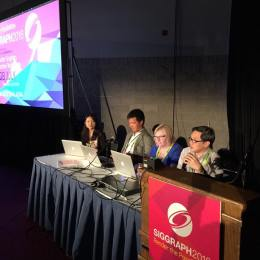 Artist, Dr Eleanor Gates-Stuart - Panel Speaker, SIGGRAPH 2016, Anaheim USA