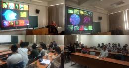 Guest Speaker, Dr Eleanor Gates-Stuart at DaLab, National Taiwan University of the Arts, Taipei, Taiwan, (2016)