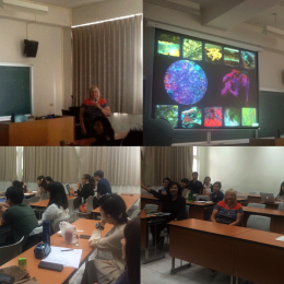 Guest Speaker, Dr Eleanor Gates-Stuart at DaLab, National Taiwan University of the Arts, Taipei, Taiwan, (2016)