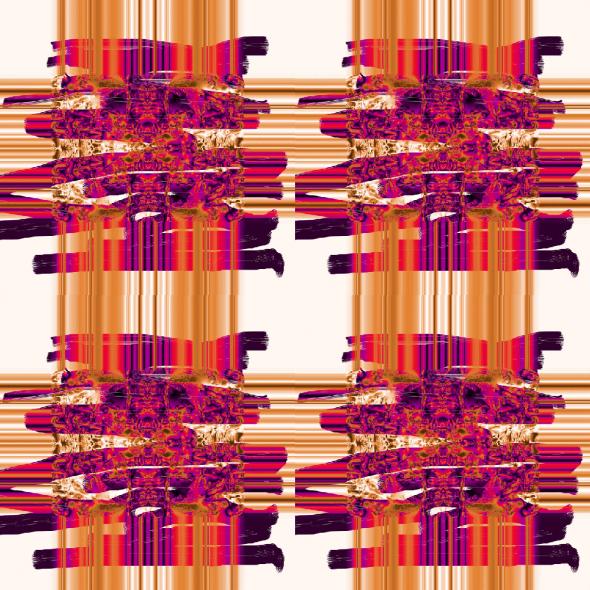 Sumanta Orange By Eleanor Gates-Stuart