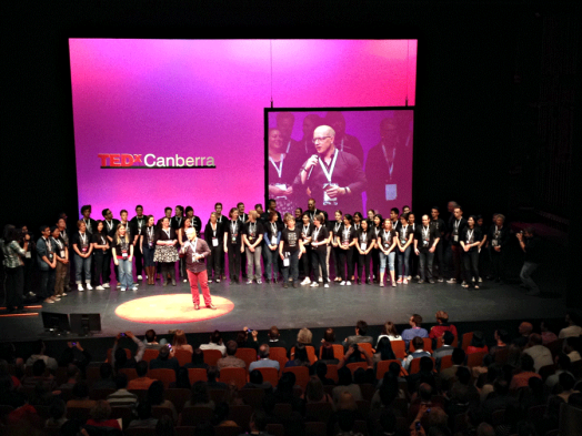 TEDxCanberra Organisers and Volunteers