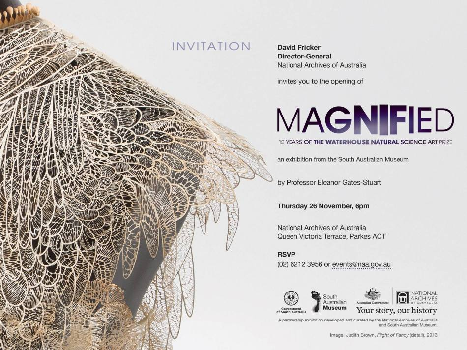 Magnified Invitation: Eleanor Gates-Stuart @ National Archives of Australia