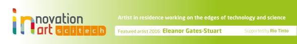 Scitech Artist in Residence - Eleanor Gates-Stuart