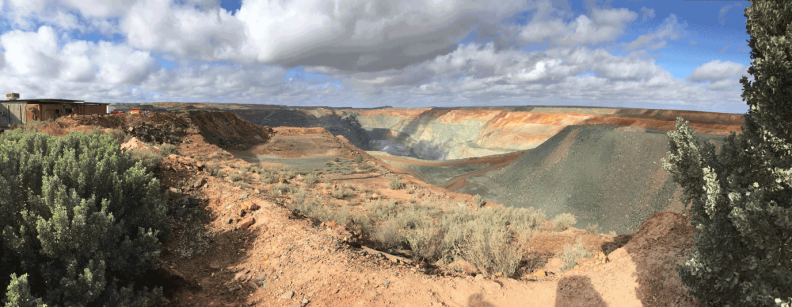 Kalgoorlie Consolidated Gold Mines – Super Pit (KCGM). Photo by Eleanor Gates-Stuart