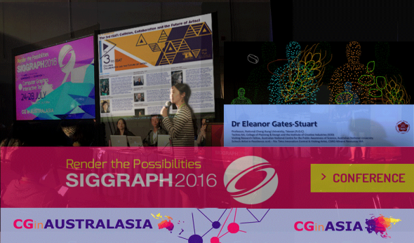 Presenting at SIGGRAPH 2016: Eleanor Gates-Stuart