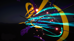 VR Abstract - Eleanor Gates-Stuart experimenting with the Tilt Brush