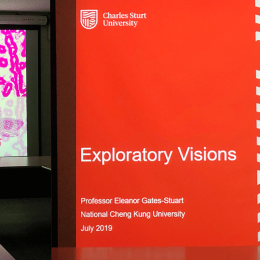 Exploratory Visions by Professor Eleanor Gates-Stuart