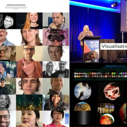 Keynote Speaker, Visualisation Matters 'Beyond the Ordinary: in the mix of science and art' (2019)