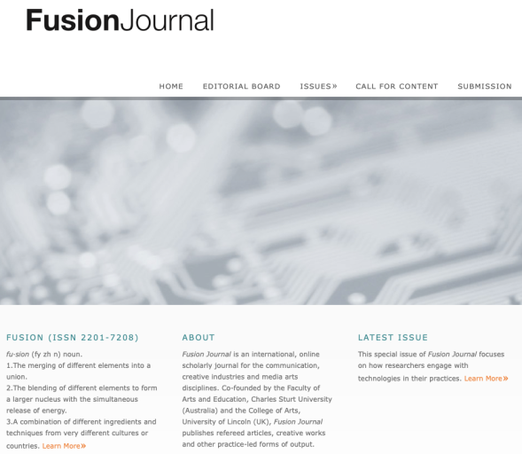 Fusion Journal