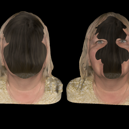 'My Face' by Artist, Eleanor Gates-Stuart